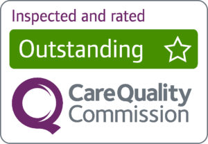 Care Quality comission - Rated Outstanding