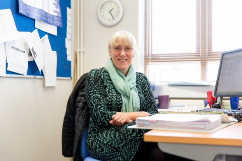 Janet - Head of Finance - Claire House