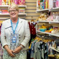 Karen Carr - Shop Manager - Claire House