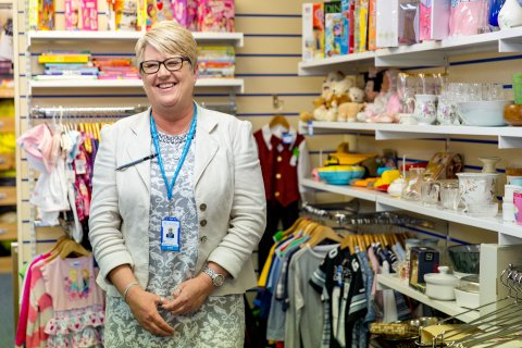 Karen Carr - Shop Manager - Claire House