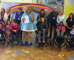 Lyndale School donates to Claire House