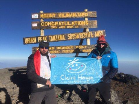 Kilimanjaro Trek 2018 - Claire House Events