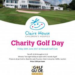 Claire House Charity Day 2017