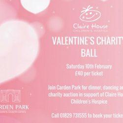 Claire House Valentine's Ball - Carden Park