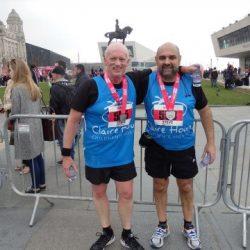 Steve's Marathon Story - Claire House