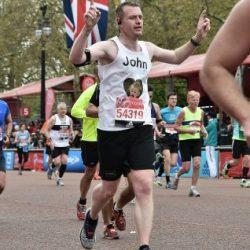 John's Marathon Story - Claire House