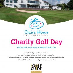 Claire House Charity Day 2018