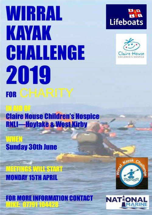 Wirral Kayak Challenge 2019