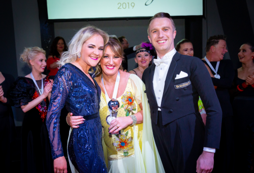 Claire House does Strictly Winner