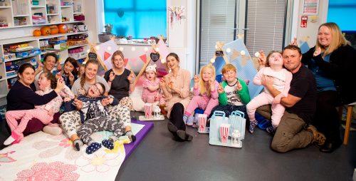 Sophie Ellis-Bextor visits Claire House